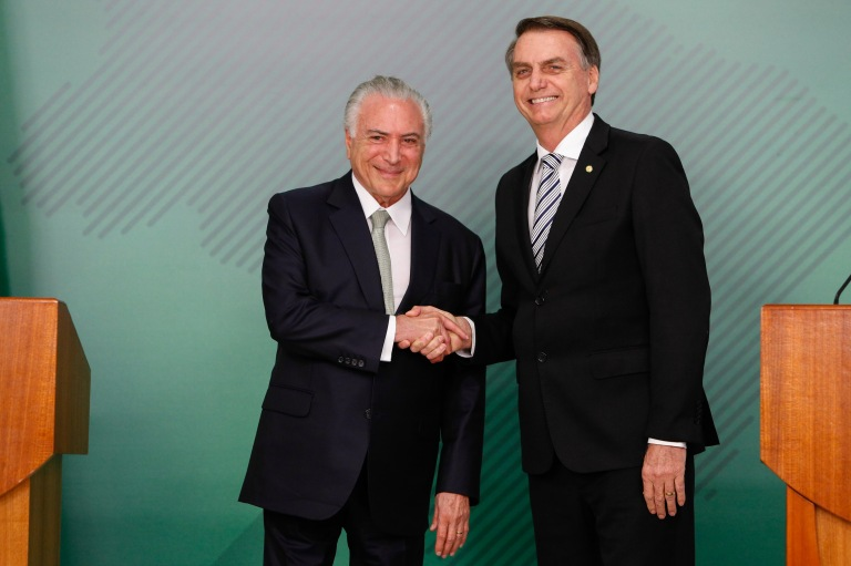 07/11/2018 Encontro com Jair Bolsonaro, Presidente da República