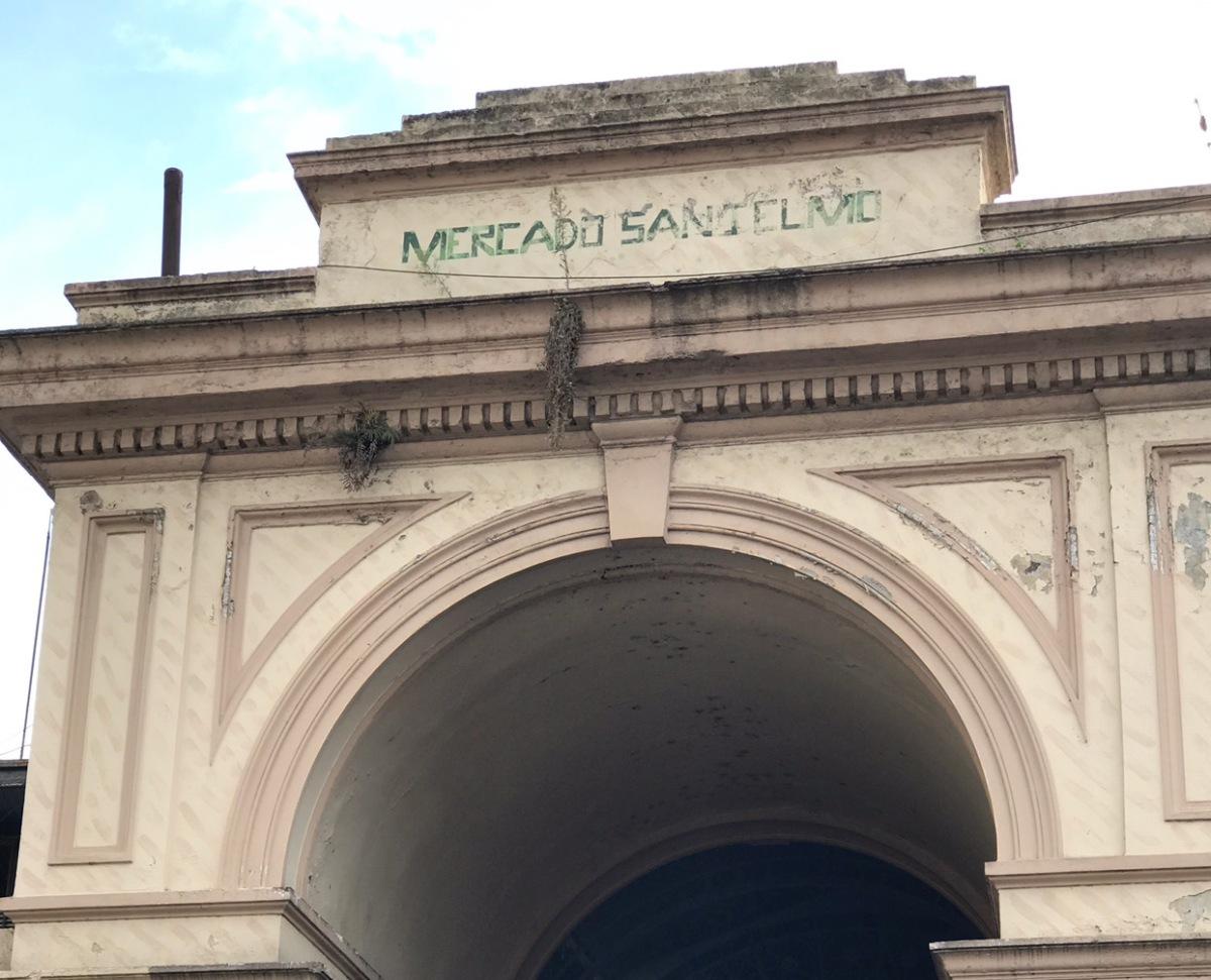 El Mercado de San Telmo, entre la renovación y lahistoria
