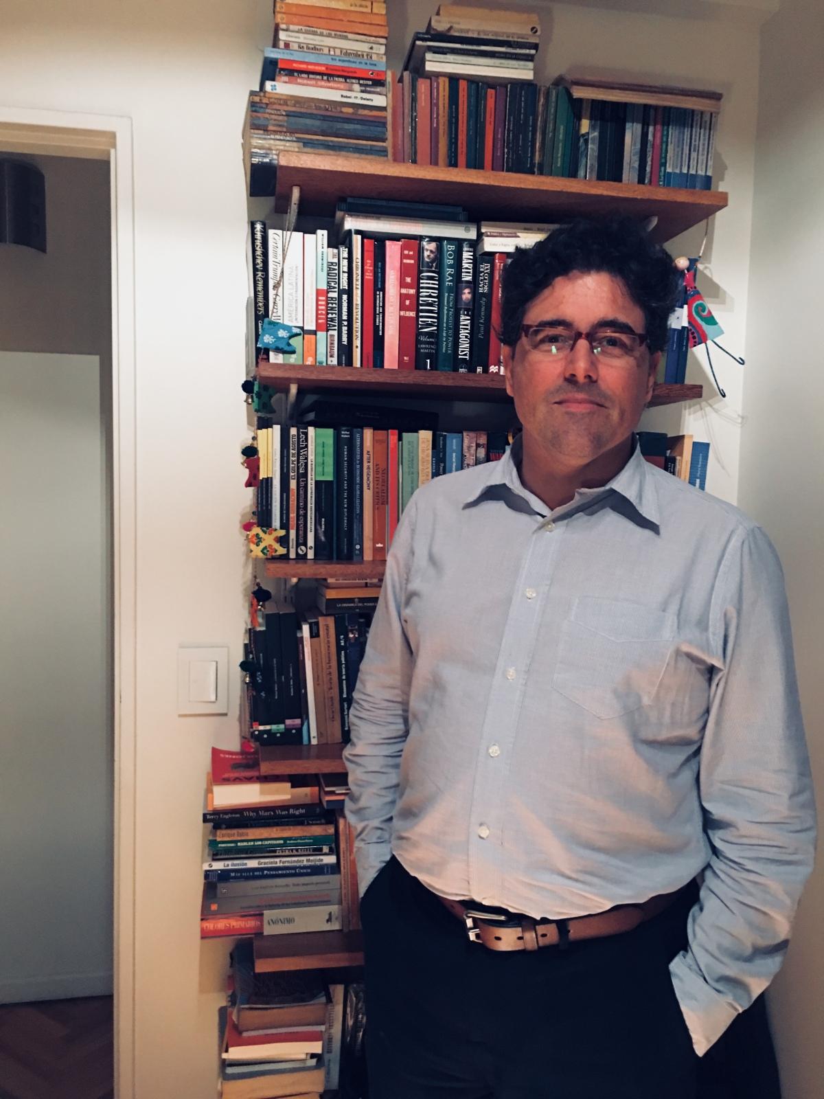 """Gabriel Puricelli: """"Hay un modelo de Europa que viene siendocuestionado"""""""